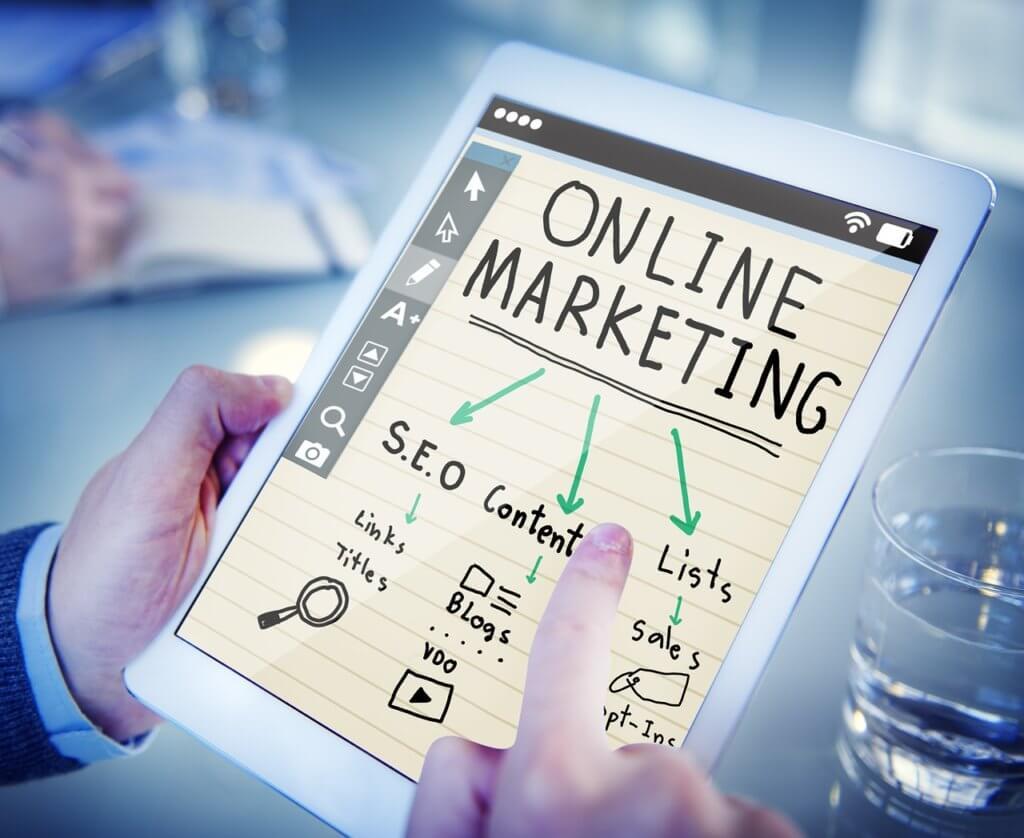 online Marketing Übersicht der verschiedenen Kanäle
