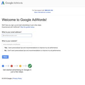 Kampagne für Google Adwords erstellen